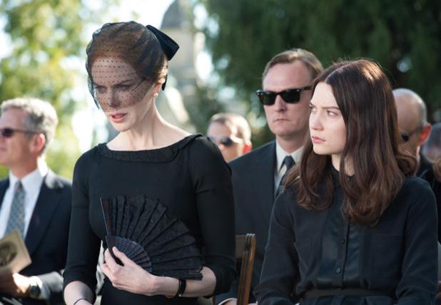 Nicole Kidman and Mia Wasikowska