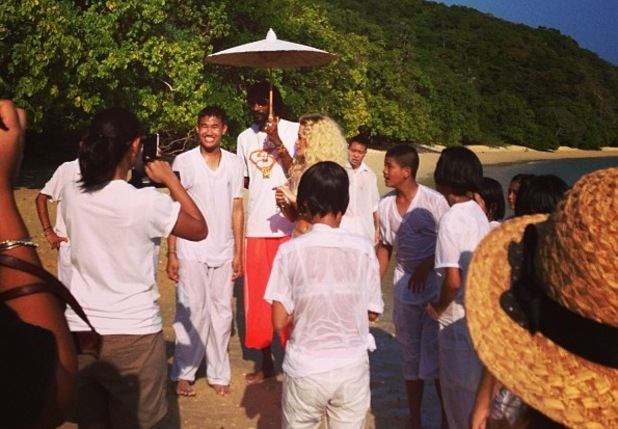 Rita Ora and Snoop Lion in Thailand