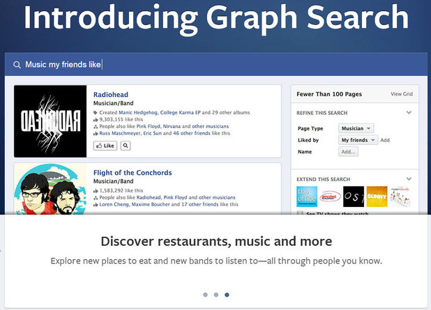 Facebook: Introducing graph search