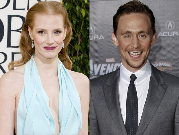 Jessica Chastain, Tom Hiddleston