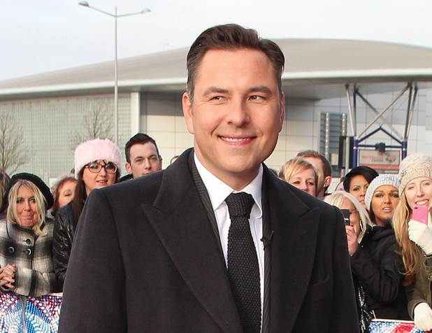 David Walliams arriving at the first round of auditions in Cardiff for Britain's Got Talent 2013