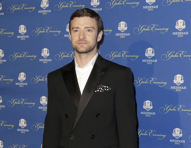 The first ever Ambassador for the U.S. Ryder Cup team Justin Timberlake 39th Ryder Cup Gala at Akoo Theatre in Rosemont Illinois, USA - 26.09.12 **Only available for publication in the UK and Switzerland. Not available for the rest of the world ** Mandatory Credit: Newspix.pl /WENN.com