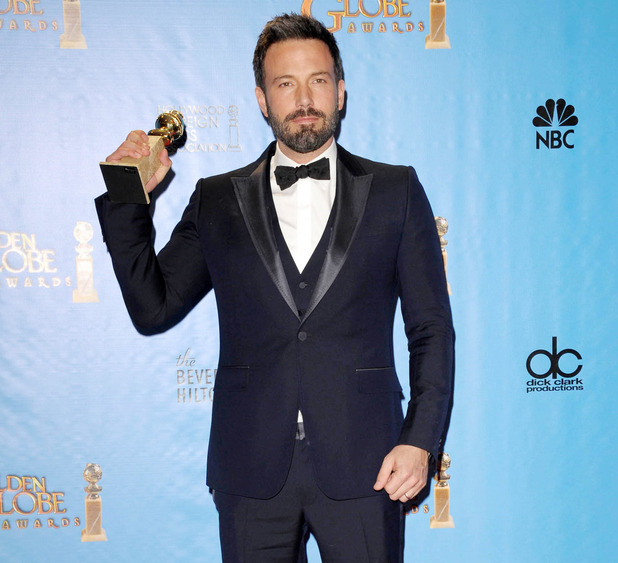 Argo&#39;s Golden Globe-winning director Ben Affleck