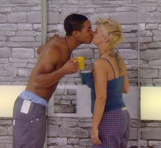 Lucien Laviscount, Kerry Katona, Celebrity Big Brother 2011