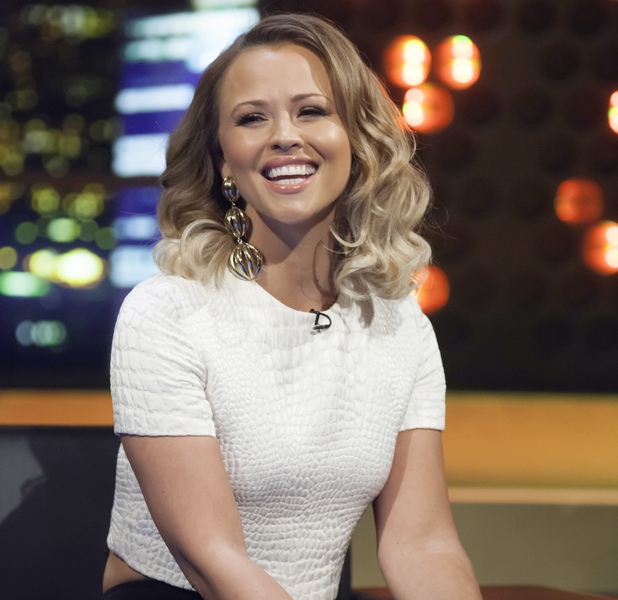 Kimberley walsh on Jonathan Ross