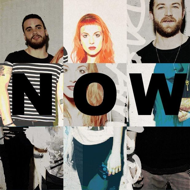 The Paramore's 'Now' artwork