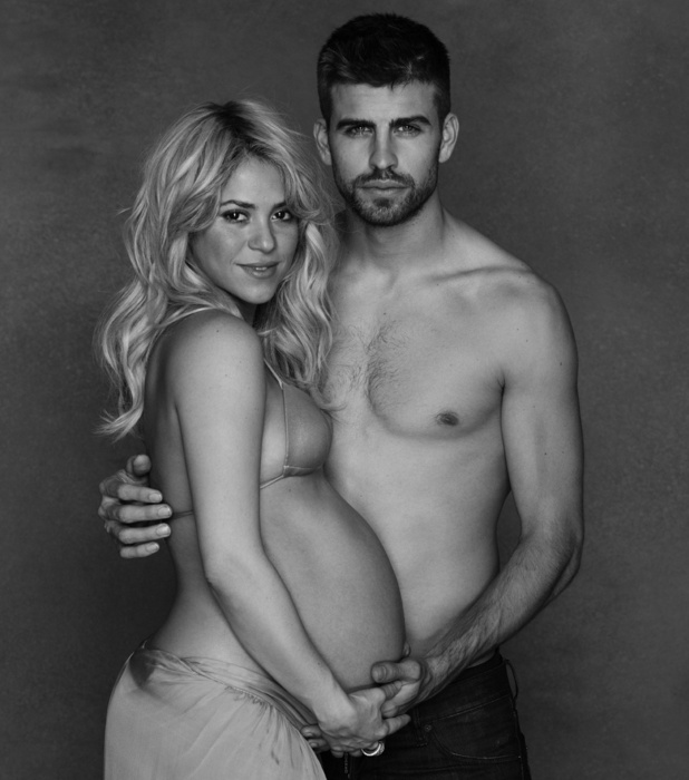 Shakira and boyfriend Gerard Piqué, UNICEF, January 2013