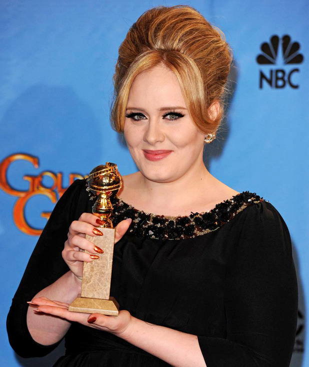 Adele, 70th Annual Golden Globes Awards, LA, 13/01/13