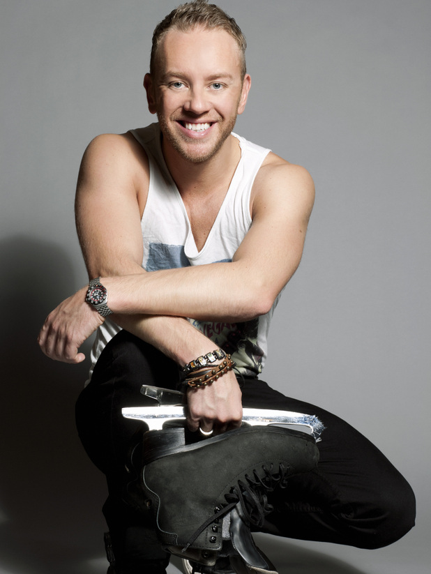 Dancing on Ice's Daniel Whiston