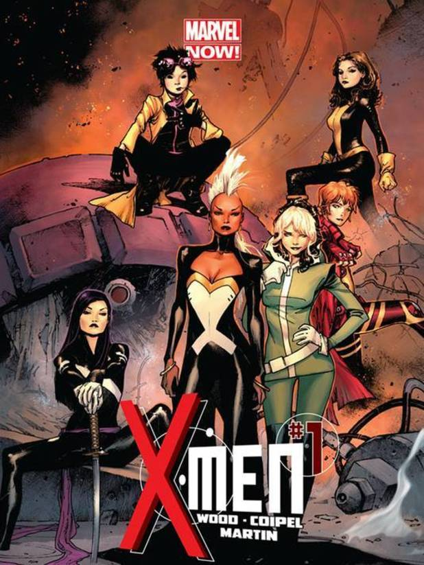 Marvel NOW! X-Men all-female relaunch