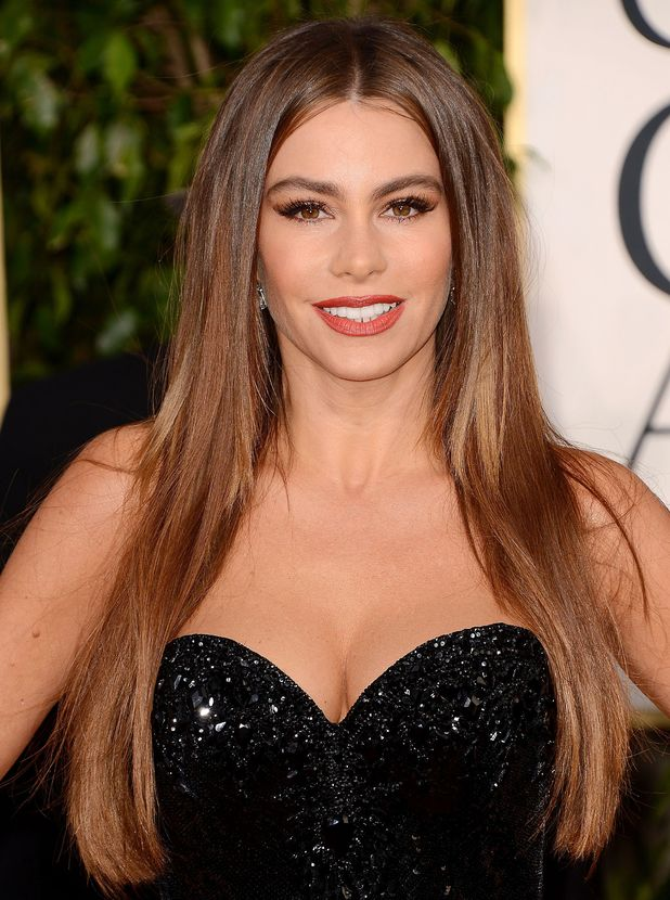 Sophia Vergara, 70th Annual Golden Globes Awards, LA, 13/01/13
