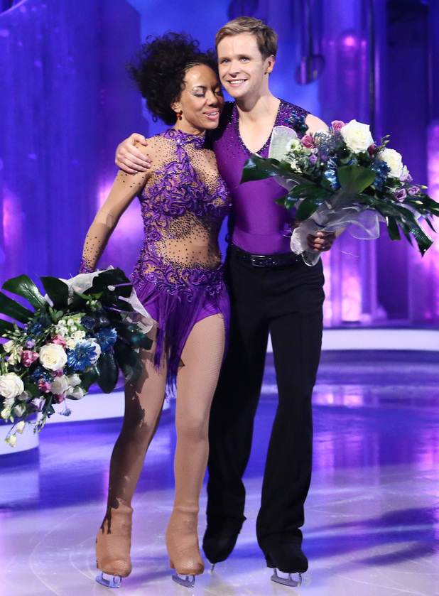 Dancing on Ice: Oona King and Mark Hanretty