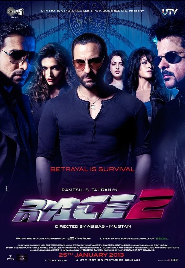 'Race 2' poster