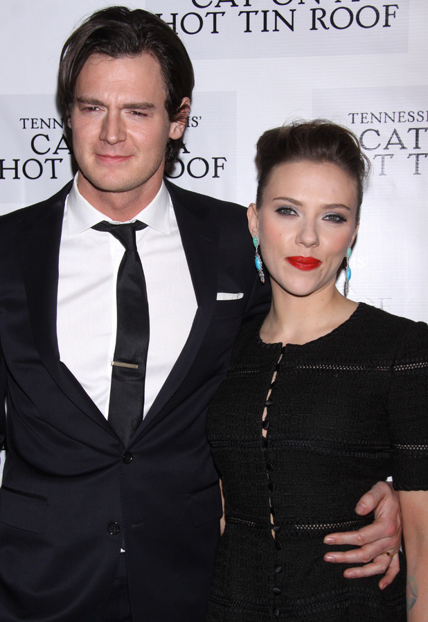 The opening night after party for 'Cat On A Hot Tin Roof' held at the Lighthouse at Chelsea Piers Featuring: Benjamin Walker,Scarlett Johansson Where: New York City, United States