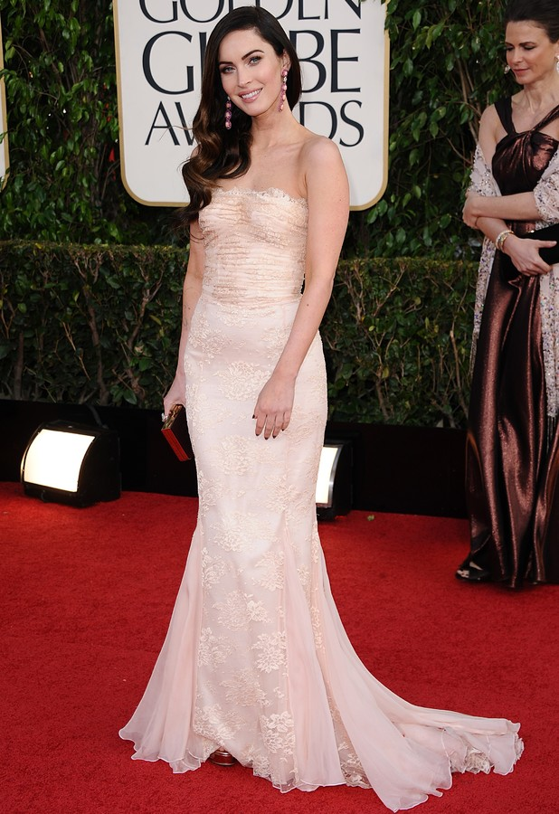 Miss Mode: Megan Fox at Golden Globes