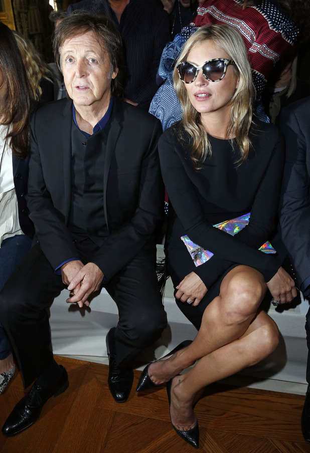 Paul McCartney, Kate Moss