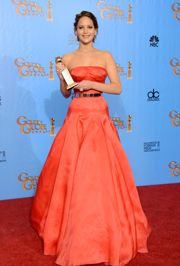 70th Annual Golden Globe Awards 2013 - Press Room
