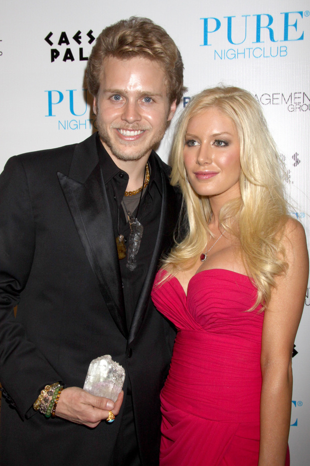 Spencer Pratt and Heidi MontagReality TV's most popular couple Heidi Montag and Spencer Pratt host Pure Nightclub on Valentine's Day