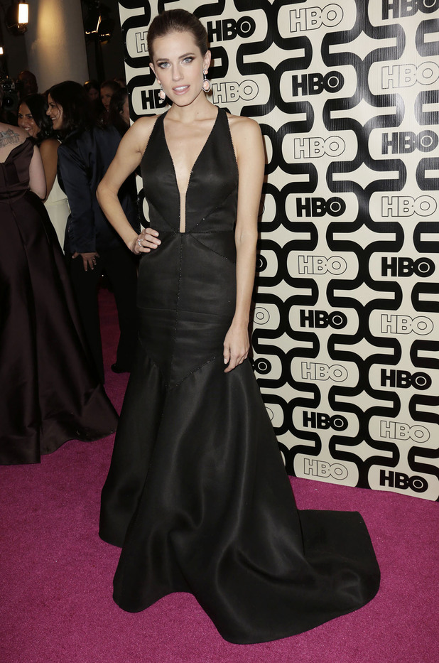 Allison Williams, 2013 HBO's Golden Globes Party