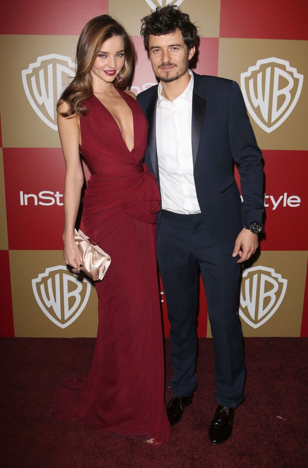 Miranda Kerr, Orlando Bloom, 70th Annual Golden Globe Awards, Warner Bros and InStyle Party,