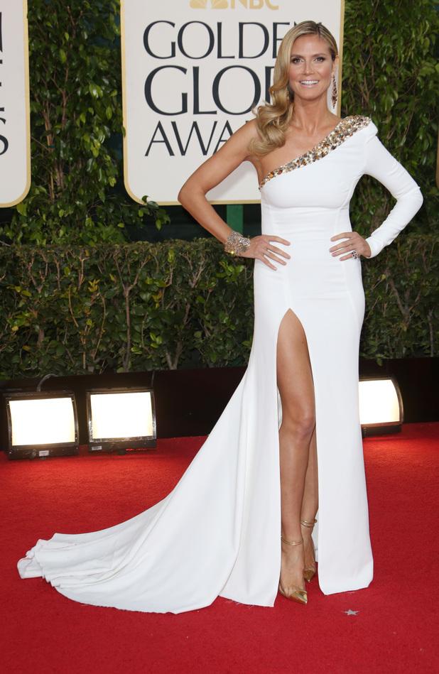 Heidi Klum, Golden Globes 2013