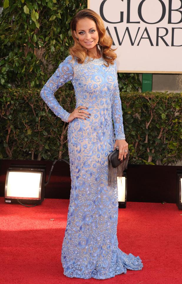 Nicole Richie, Golden Globes 2013