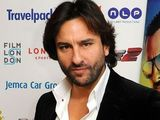 Saif Ali Khan during a photocall to promote his new Bollywood film, Race 2, at the Hippodrome Casino in London