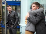 Ste and Doug share a hug.