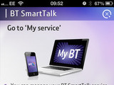 BT SmartTalk app screenshot