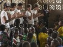 One Direction's trip to Africa will be shown as part of Red Nose Day in March.