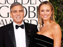 Stacy Keibler insists that her and George Clooney's break-up was amicable.