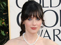 Zooey Deschanel insists she has no ambitions to be a leading lady in film.