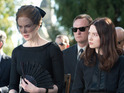Nicole Kidman and Mia Wasikowska play mother and daughter pair in Stoker.