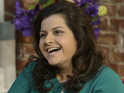 "Nina Wadia hoped Zainab's exit would involve a ""horrific car accident""."