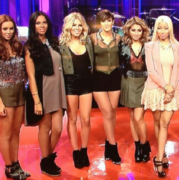 The Saturdays and Nicki Minaj on Jay Leno