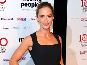 Emily Blunt, London Critics&#39; Circle Awards, Mayfair Hotel, London