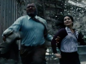 Laurence Fishburne, Rebecca Buller, Man of Steel