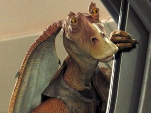 Jar Jar Binks in Star Wars: Episode I - The Phantom Menace
