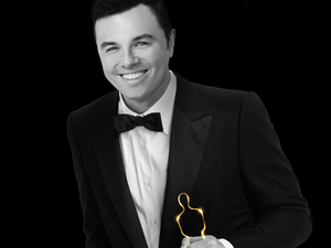 Seth Macfarlane Oscars 2013 poster