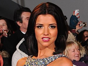 Lucy Mecklenburgh arriving for the 2013 National Television Awards at the O2 Arena, London.