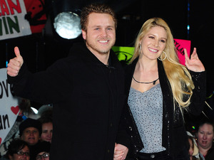 Heidi Montag and Spencer Pratt leaves Celebrity Big Brother, filmed at the Elstree Studios in London.
