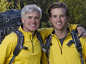 The Amazing Race Season 22 cast: Father and son David and Connor O'Leary