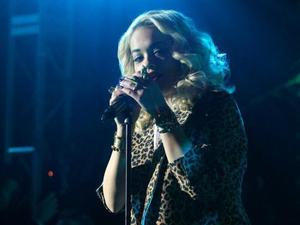 Rita Ora performs on 90210 season 5