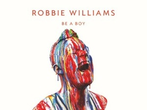 Robbie Williams 'Be A Boy' single artwork.