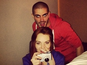 Lindsay Lohan and Max George, London, 21.01.2013