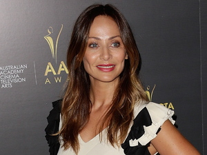 Natalie Imbruglia arrives for the Australian Academy of Cinema and Television Arts' 2nd International Awards, held at Soho House.