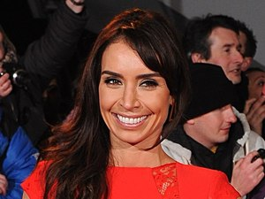 Christine Bleakley arriving for the 2013 National Television Awards at the O2 Arena, London.