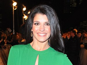 Natalie Anderson arriving for the 2013 National Television Awards at the O2 Arena, London.