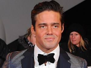 Spencer Matthews arriving for the 2013 National Television Awards at the O2 Arena, London.