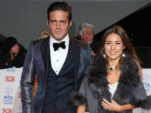 The National Television Awards (NTA's) 2013 held at the O2 arena - Arrivals Featuring: Spencer Matthews and Louise Thompson Where: London, England, United Kingdom